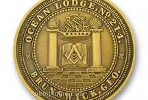 Монеты: Вольные каменщики