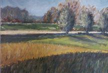 mes peintures / Mes premiers pas dans l'apprentissage de la peinture à l'huile ...