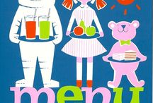 Children's menu. Menu enfants.