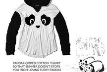 panda hoddie