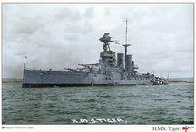 Naval ships of WW1