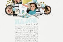 scrapbook layouts I like