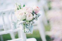 bloemen op bruiloft