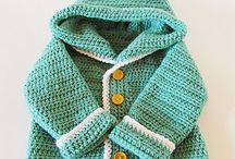 baby crochet cardi