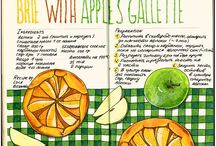 Food Scetch / Скетчи, рисунки еды