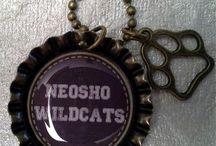 Neosho Wildcats Jewelry