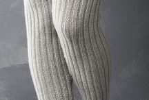 Neuleet/hameet, housut