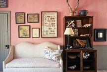 Pink-ish walls