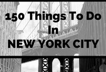 Travel: NEW YORK CITY / Things to do while you're out and about in New York City!
