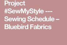 Sew My Style / Project #SewMyStyle 2017