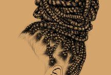 tupos de penteado