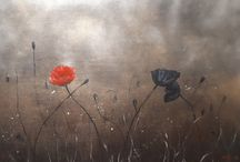 ANZAC POPPIES / inspiration taken from the courage and sacrifice of Australian and New Zealand troops.  Lest we forget!!!
