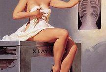 Vintage pin ups & advertisements / Pubblicità dagli Anni Quaranta agli Anni Sessanta del Novecento