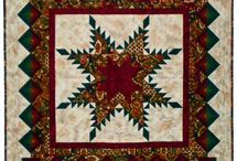 Feathered Star quilts and blocks