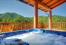Favorite Hot Tub Views / Some of our favorite hot tub views from vacation rentals around the world. Ahhh.... / by Owner Direct Vacation Rentals