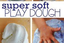Play dough and slime