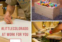 Woodworking: Pride in Craftsmanship / At Little Colorado, we're proud of our handcrafted wooden toddler furniture: heirloom-quality products for your family to enjoy for generations. Here are some other woodworking projects we love.