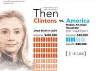 Clinton / Race for the Presidency  / by Evelyn Milardo