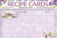 Recepie cards