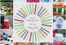 Rainbow Birthday Party! / by Melissa Allott