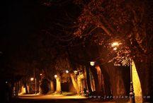 Jarosławiec nocą