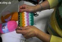 pletení a háčkování / volný čas