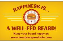 Beard Care Products / Pictures of our latest promotions and products: beard oil, beard conditioner, beard shampoo, beard shirts, and beard gift ideas.