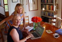 Behind the scenes of Broads  Abroad / Women travellers exchanging free accommodation.