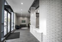 Reception Area Dental Office Designs / Some cool, contemporary, relaxing reception area designs by Arminco Inc