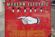 Tattoo shop shit
