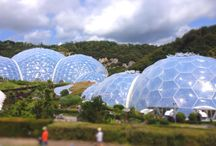 Eden Project / Interesting photos from the Eden Project in Cornwall