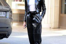 Karlie Kloss in a Saint Laurent