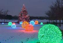 Christmas outdoor light bals