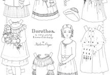 Paper Dolls / by Mary Chic