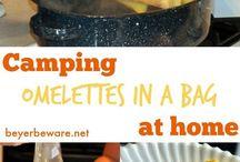 Camping eten