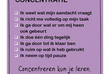 concentratie/tijd management