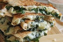Quesadillas / Recipes for quesadillas!