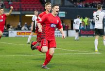 Ayr United 9 Dec 17 / Pictures from the Ladbrokes League One game between Ayr United and Queen's Park. Match played at Somerset Park on Saturday 9 December 2017. Ayr United won the game 3-2.
