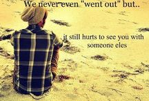 "The Love Quotes Jealousy Quotes : We never even ""went out"" but.. it still hurts to see with someone else…"