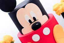 Mickey Mouse birthday theme