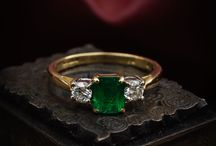Antique and Vintage Gemstone Rings / Antique and Vintage Gemstone Rings