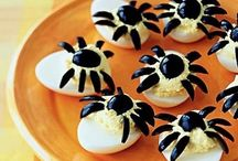 jedzenie na Halloween