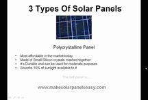 Solar Panel Videos / Videos about Solar Panel technology, Solar Panel installation, etc.