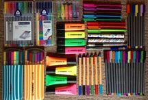 penne e pennarelli/pens