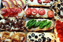 Pizzas galore