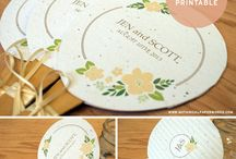 Wedding Printables / A collection of our most popular, must have FREE wedding printables!