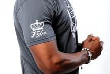 M - ROYAL SHIELD Christian T-Shirt - Gray  / Royal & Fearless! This short sleeve Christian T-Shirt features a crew neckline, printed classic F.O.G. royal shield design at front. Signature logo and crown design at right sleeve and on top back of t-shirt. #FOG Christian T-Shirts # Christian T-Shirts #Christian T-Shirts for Men #Stylish Christian T-Shirts #FOGcollection  / by F.O.G. FAVOR OF GOD