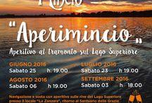 Aperimincio : aperitivo al tramonto sul Lago Superiore 23 Luglio - 6 Agosto - 3 Settembre Curtatone MN