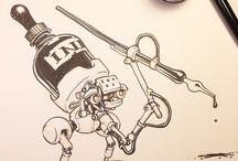 Ink robot