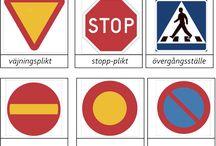 Trafik märke